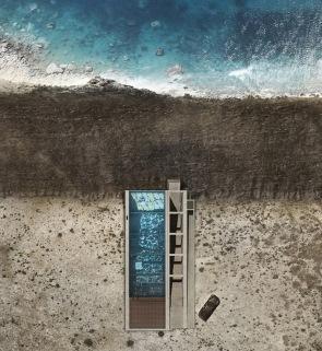 Casa Brutale - vue aérienne