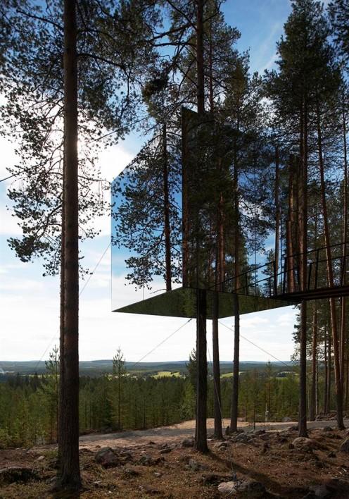 Tree Hotel / Tham & Videgård Arkitekter en Suède