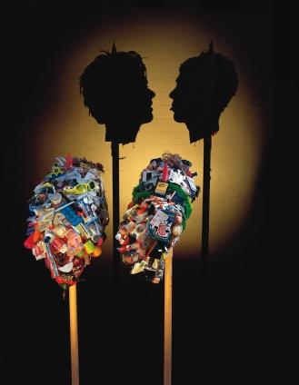 «Miss Understood & Mr Meanor», Tim Noble et Sue Webster, 1997