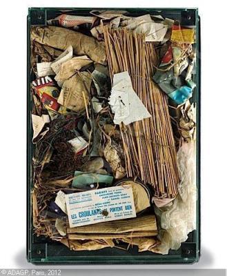 «poubelle des halles», Arman, 1961