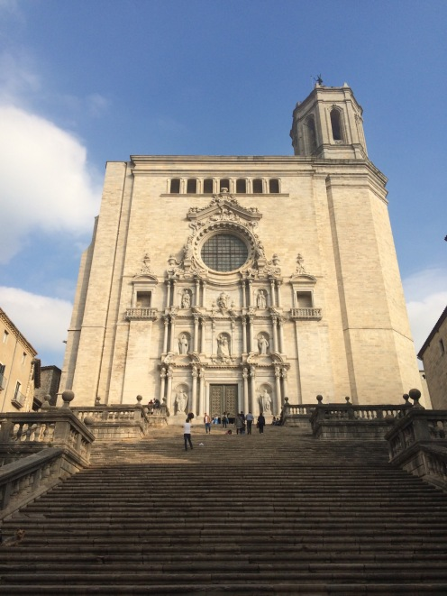 Cathédrale de Gérone en Espagne