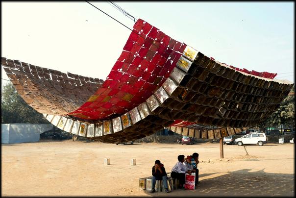 «Jugaad shade canopy» de Sanjeev Shankar construit en 2008