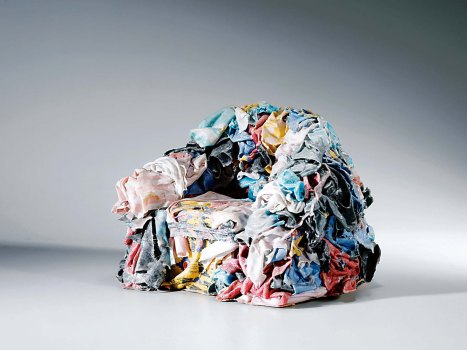 Fauteuils Rag Chair de Gaetano Pesce ou Tejo Remy